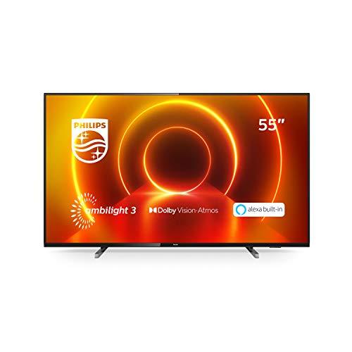 "TV LED 55"" Philips 55PUS7805/12 4K UHD"