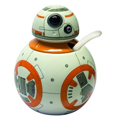 Star Wars-BB 8 azucarero con Cuchara de cerámica