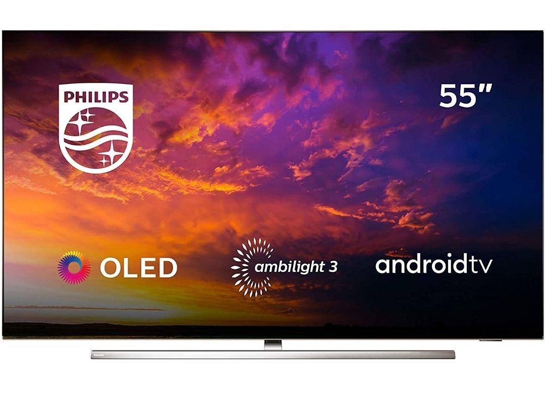 "Tv OLED PHILIPS 55"" con Ambilight"