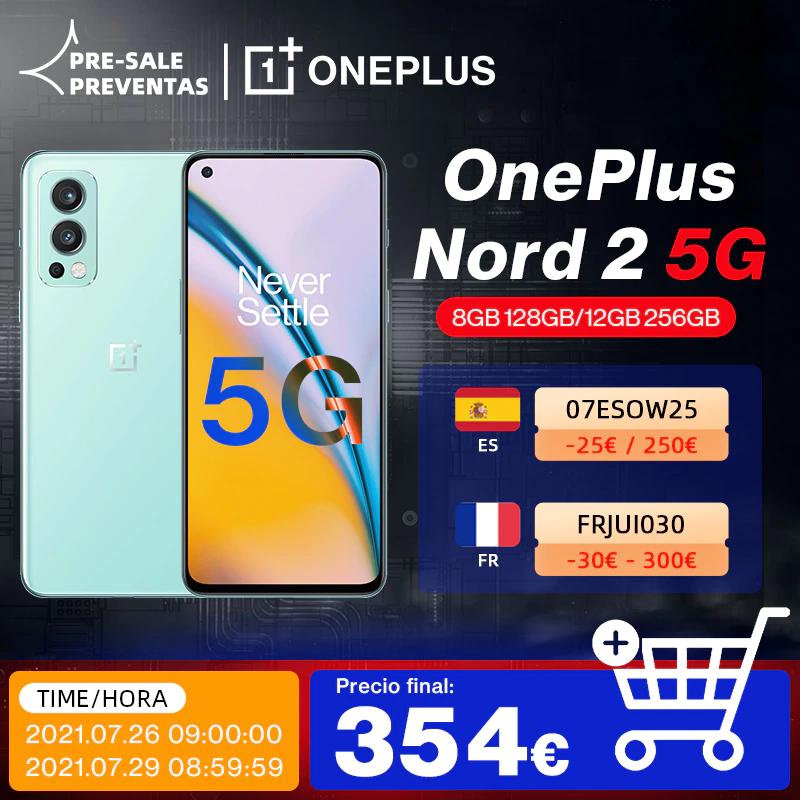 OnePlus Nord 2 5G (Desde España)