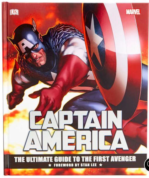 Capitán América: La guía definitiva del primer vengador (Ingles)