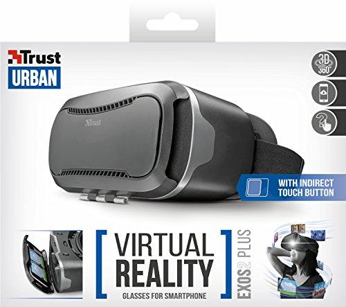 Gafas de Realidad Virtual Trust Urban Exos 2 Plus para smartphone