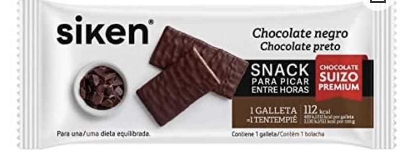 Siken Form snack - Galleta de chocolate negro