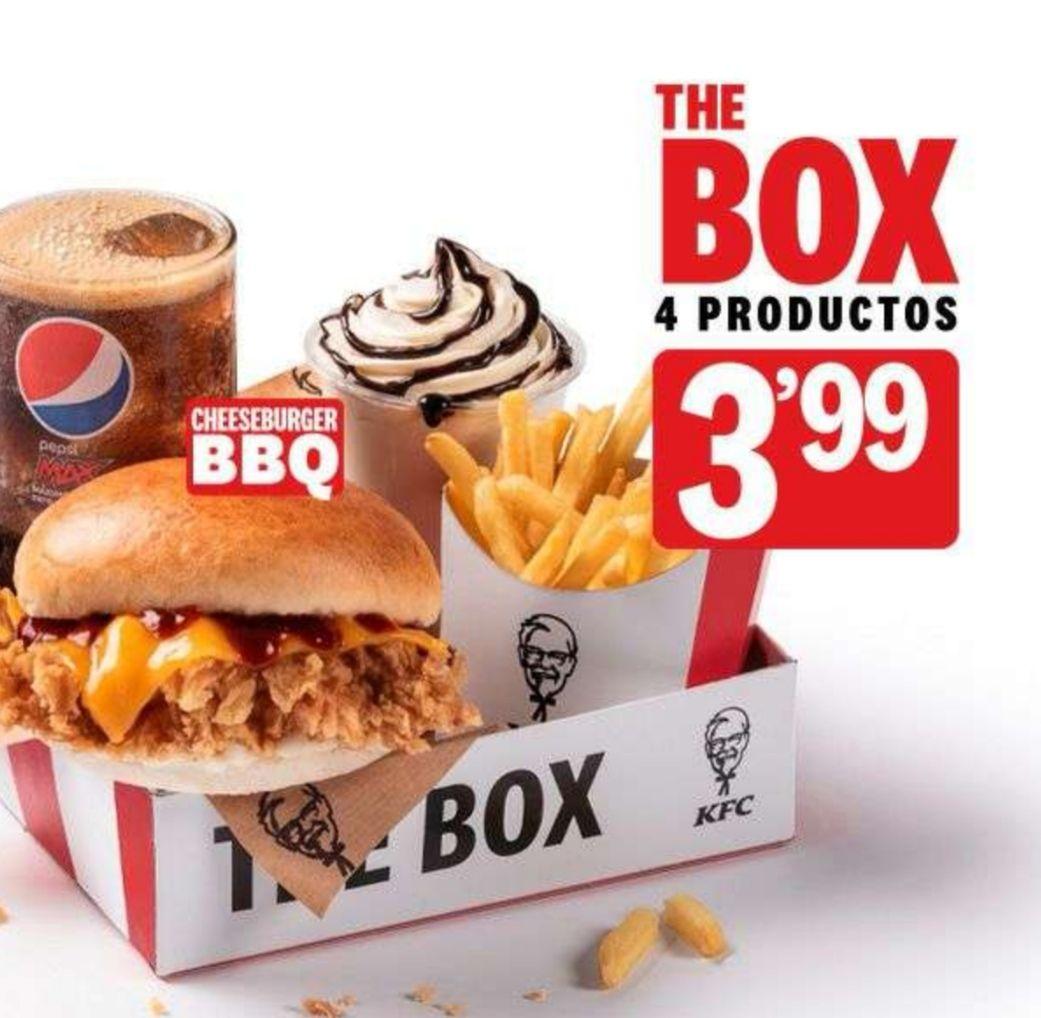 Vuelve THE BOX a KFC! 4 Productos x 3.99€
