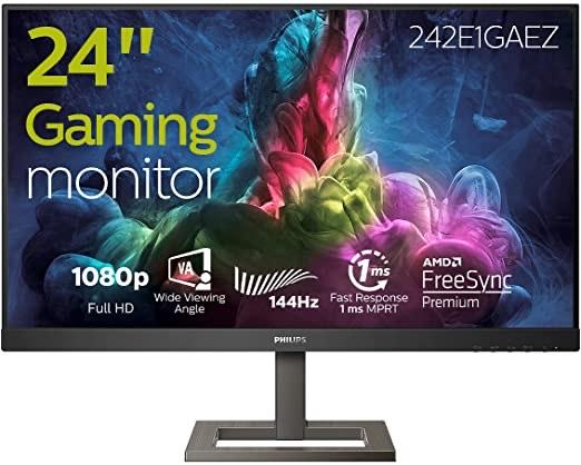 "Monitor Philips 24"" FHD 144Hz 1ms VA FreeSync"