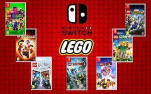 Juegos de LEGO (Switch)