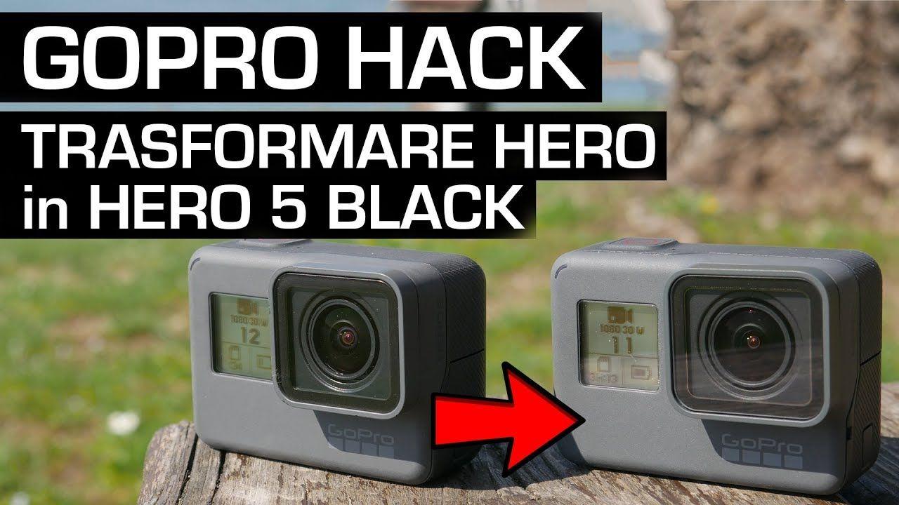 GOPRO HERO 2018 (convertirla a hero 5 black)