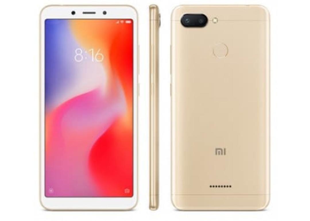Xiaomi Redmi 6 4/64 dorado