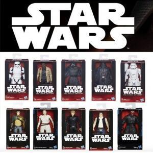 Figuras emblemáticas Star Wars: Chewbacca, Darth Vader, Han Solo y Luke Skywalker (AlCampo)
