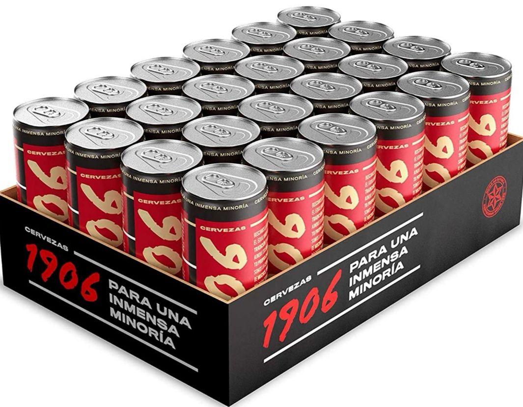 Cerveza 1906 Red Vintage Pack 24x33cl latas [Al Tramitar] Tb Corte Inglés!