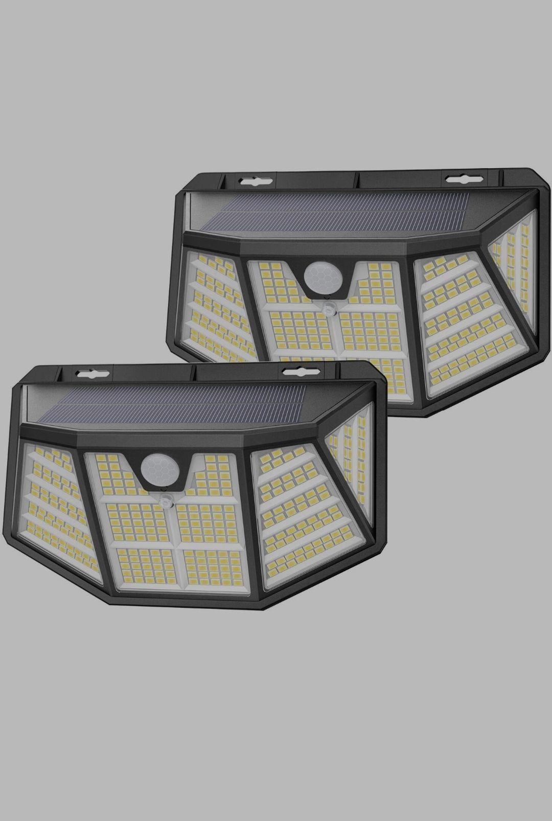 2 luz solar (310 led) envío gratis para cuentas Prime