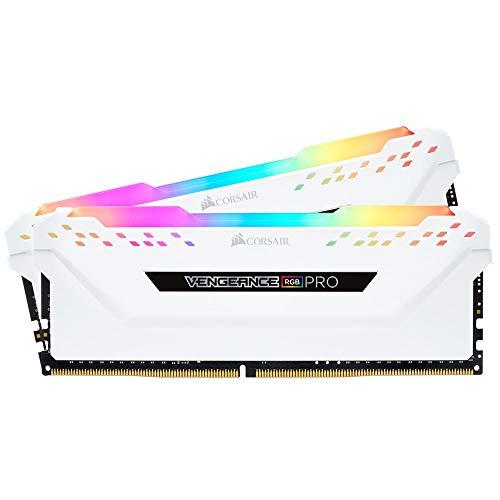 Corsair Vengeance RGB Pro 16 GB (2 x 8 GB) DDR4 3600 (PC4-28800) C18 - Blanco