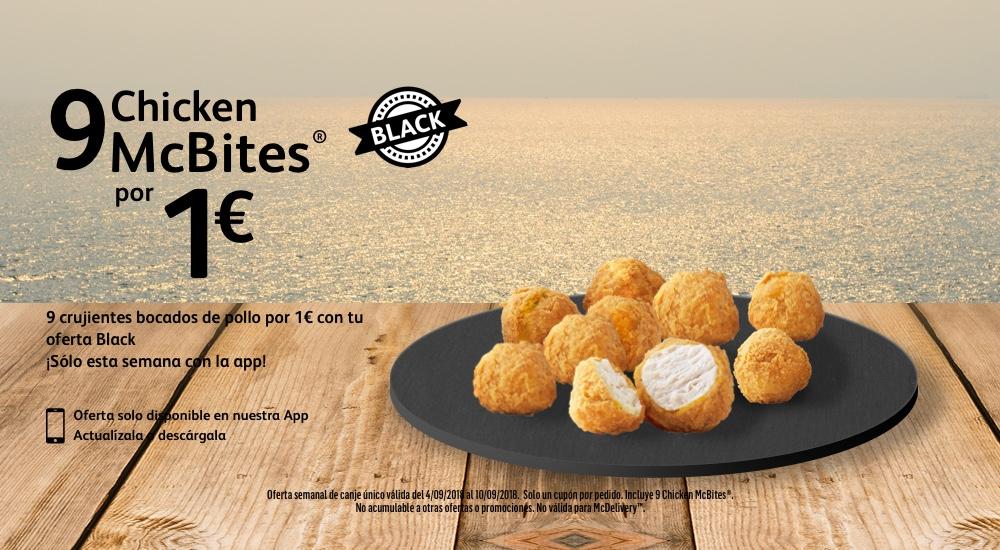 9 mcchickenbites por 1€