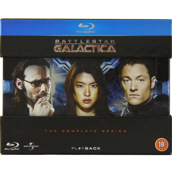 Battlestar Galactica - La Serie Completa Blu-ray (Subtitulos Español)