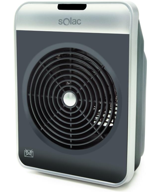 Termo ventilador Solac 2000W solo 11.9€