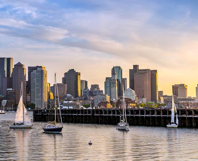 Boston 304€/p= 4 noches en hotel con desayunos y vuelos