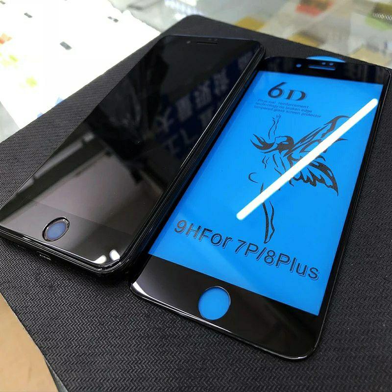 Protector de pantalla 6D iPhone 6(s),7,8,X