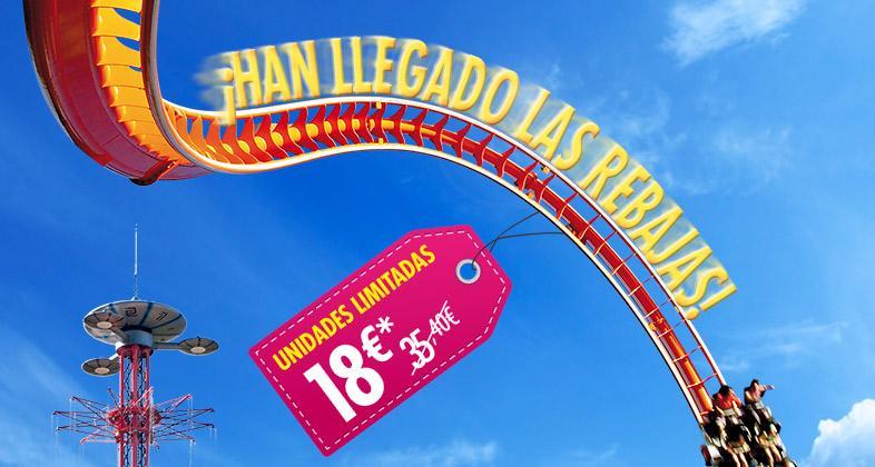 Parque de Atracciones promo VERANO  Madrid