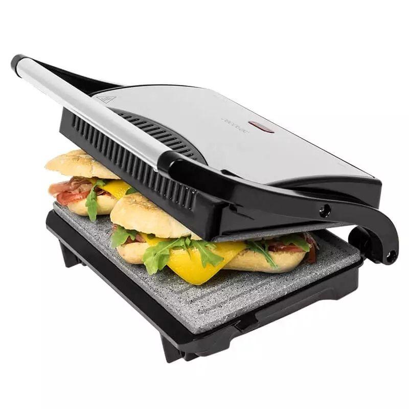 Cecotec Sandwichera con placas de plancha grill,