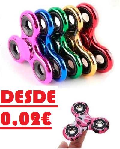 Fidget Spinners desde 0,02€