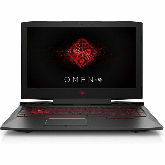 Portátil HP Omen i7-7700hq-128gb/1tb-GTX 1060 6GB-120Hz