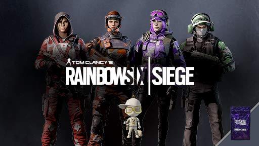8 sobres Twitch Prime + 1 amuleto chibi legendario Rainbow Six