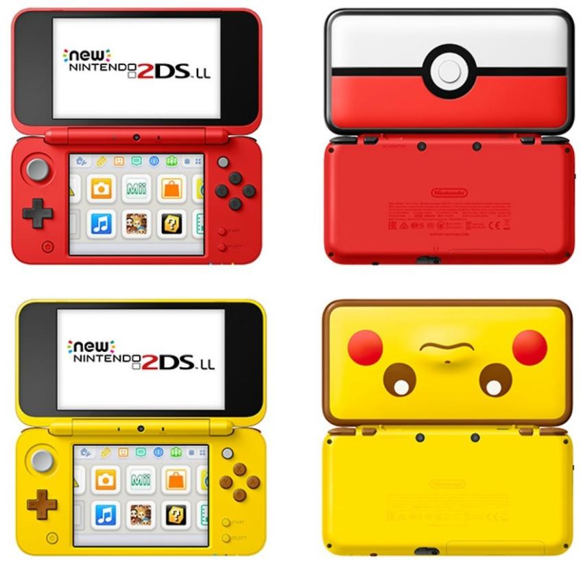 Nintendo 2DS XL Edición Pokemon solo 109€