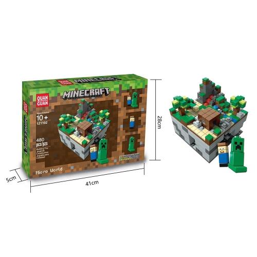Minecraft 480 piezas