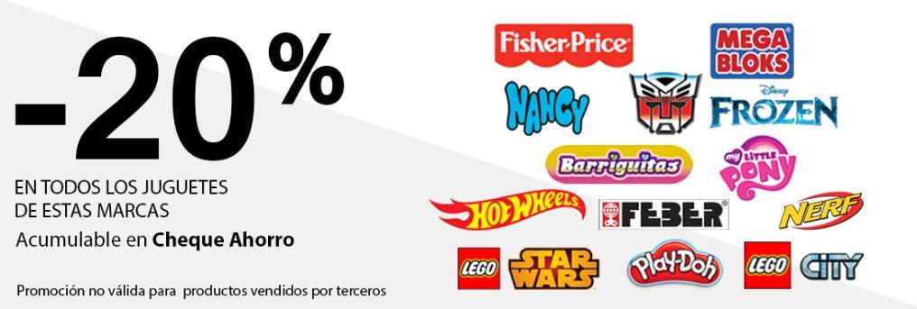 CARREFOUR - 20% DTO. EN SELECCIÓN DE JUGUETES
