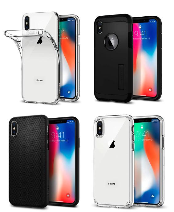Fundas Spigen iPhone X a 4,99€