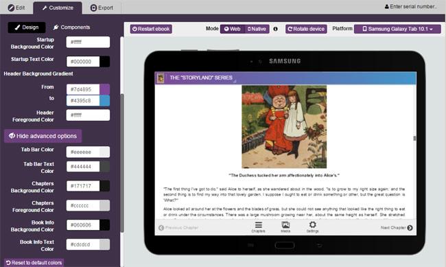 Kotobee Author: Creador de ebooks