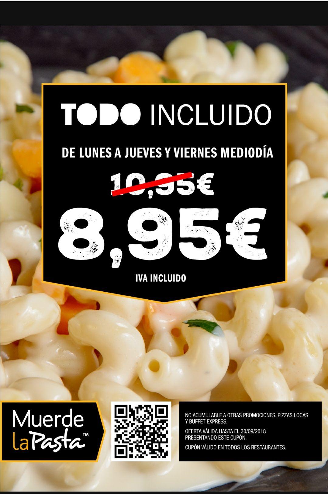 Descuento de 2€ Muerde La Pasta