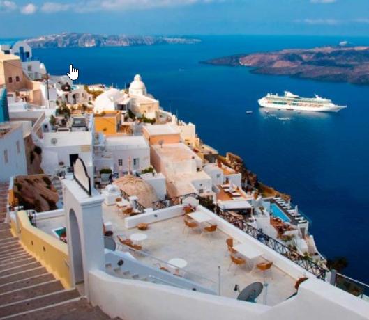 Santorini 355€/p = 7 noches en hotel 4* con desayuno y vuelos