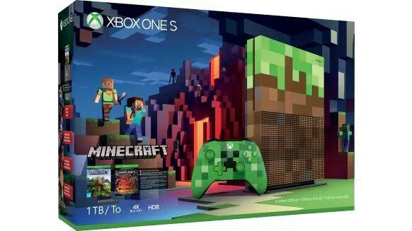 Xbox One S 1TB - Minecraft Edición Limitada