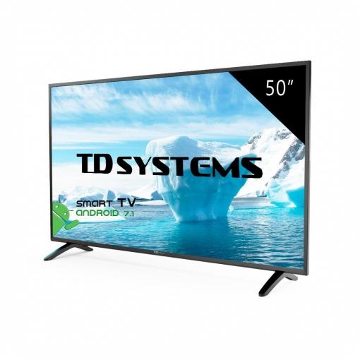 TV LED 127 cm (50'') TD Systems 50DLM8FS, Full HD, Smart TV
