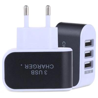Cargador 3 USB a 3A