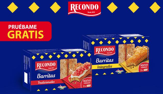 REEMBOLSO Prueba gratis Barritas Recondo