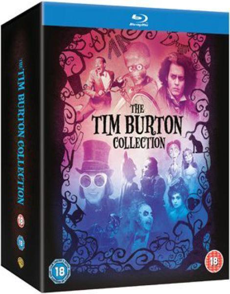 Colección Tim Burton (8 Bluray)