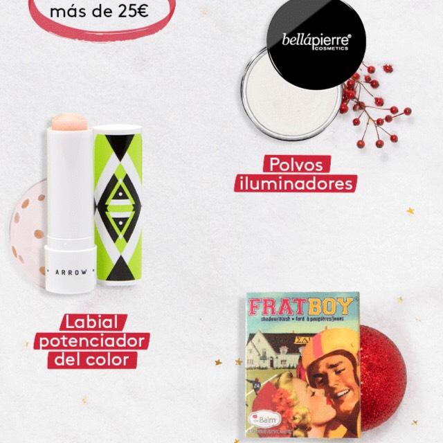 25€ en maquillaje gratis con la compra de tu birchbox