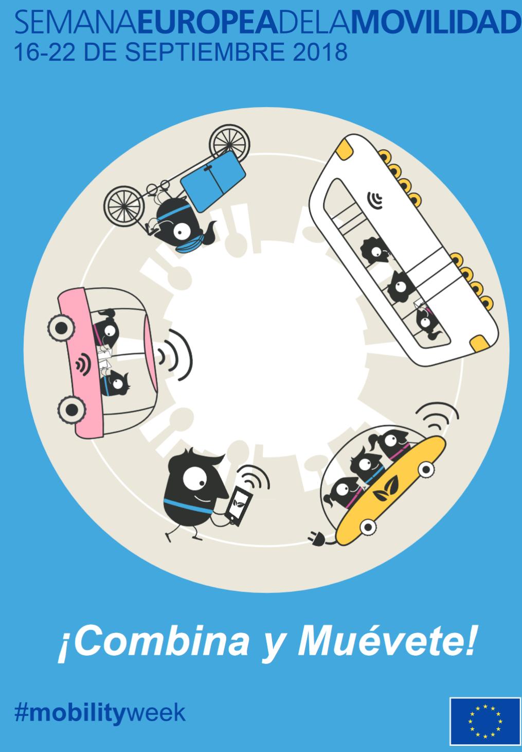 16-22 Septiembre: Semana Europea de la Movilidad (Transporte público gratis)