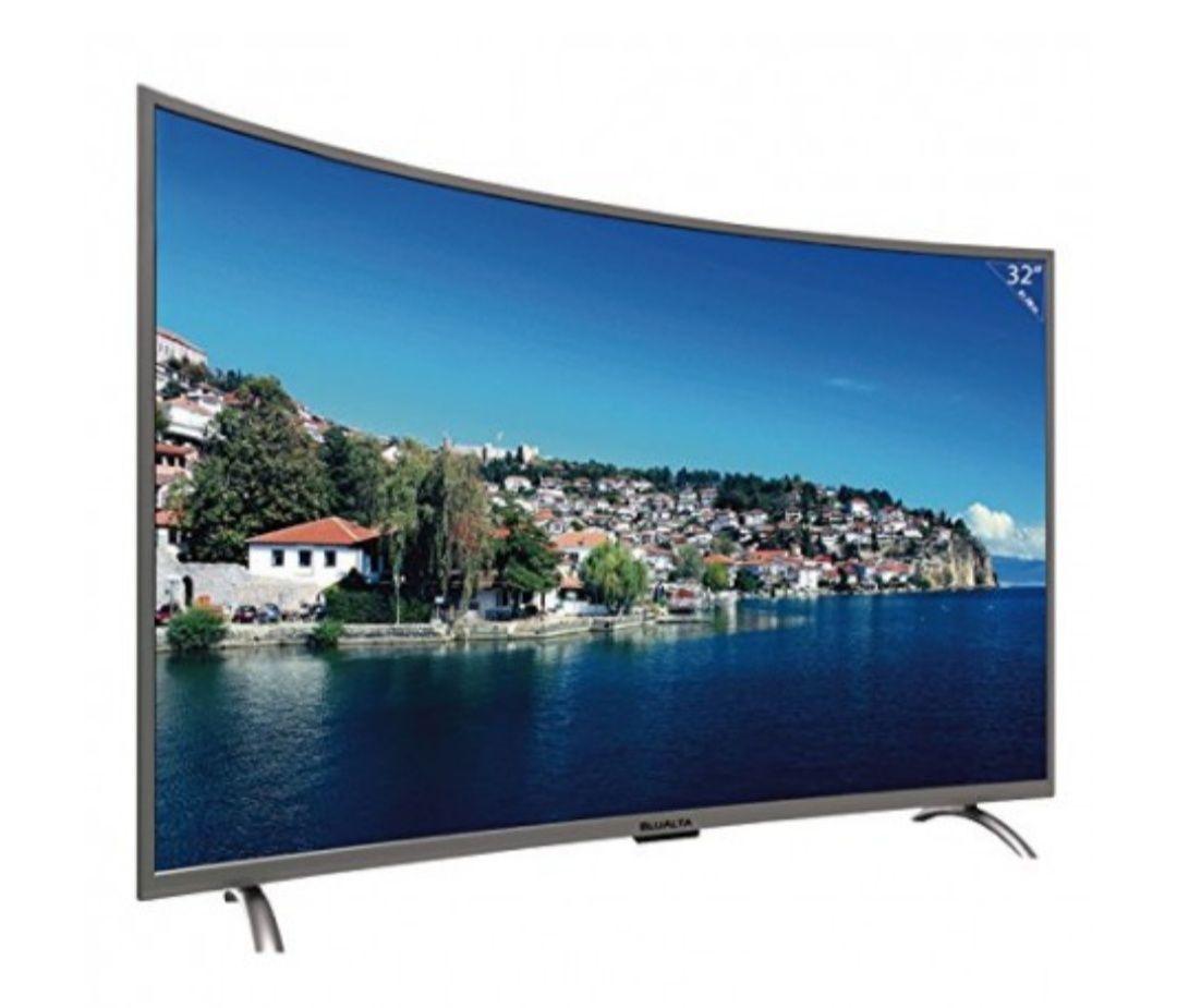 """TV 32"""" HD BLUALTA BL-C32 curvo a precio de locos!!"""