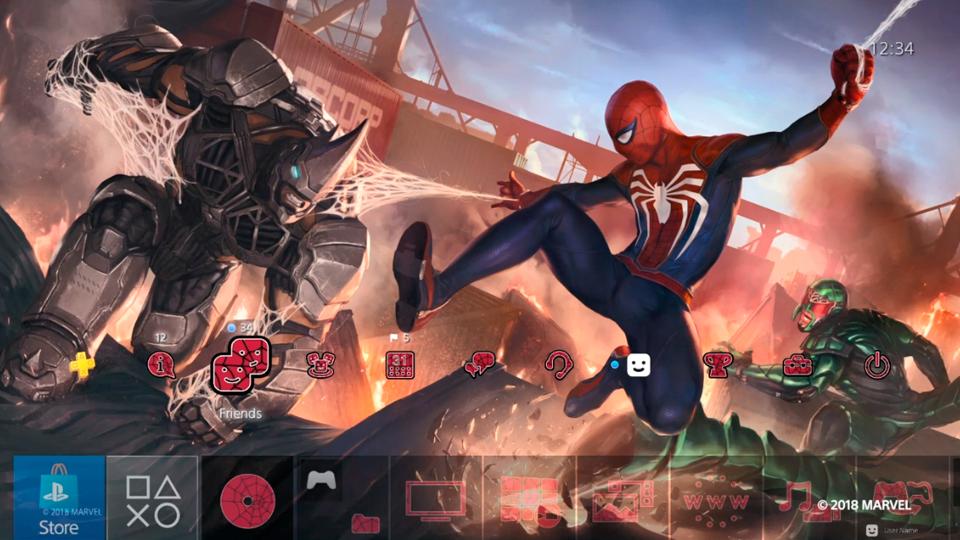 Increible tema del nuevo Marvel´s Spider-Man para PS4 desde la STORE GRATUITO