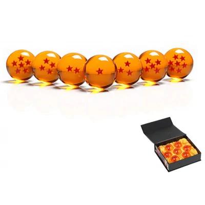 Dragon Ball, las 7 bolas de cristal de 4cm cada una