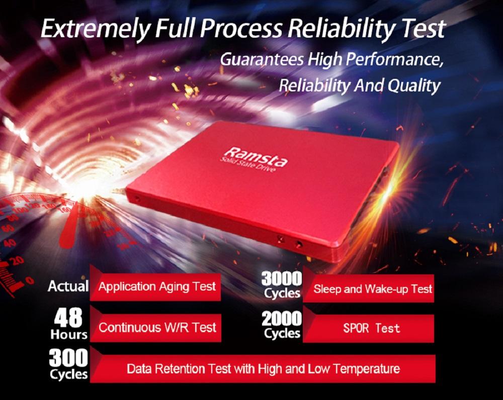 SSD Ramsta S800 480GB SATA3