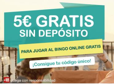 5€  en TOMBOLA.ES  (sin deposito) [GRATIS]