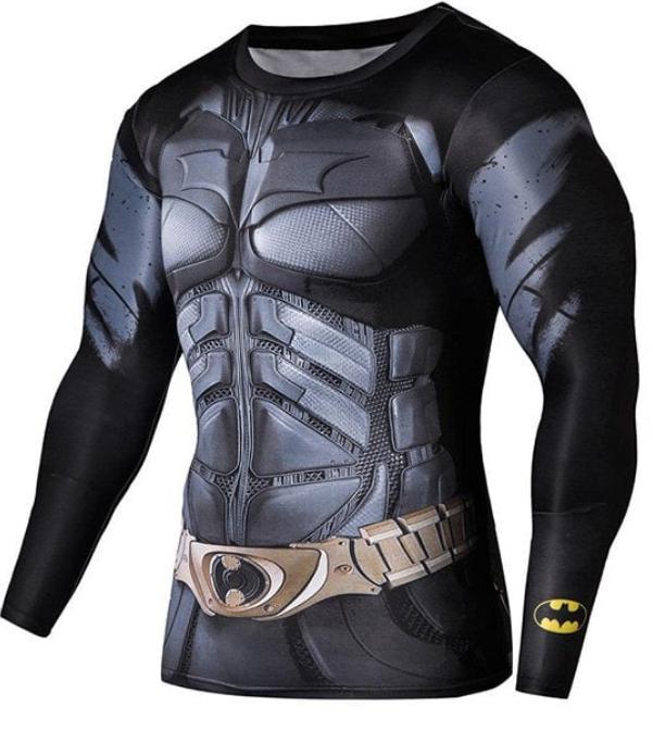 Camiseta de malla con músculos de Superheroes
