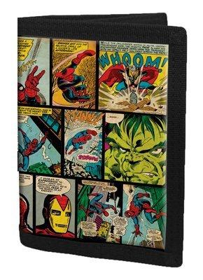 Cartera Marvel Comic Retro (Preventa)