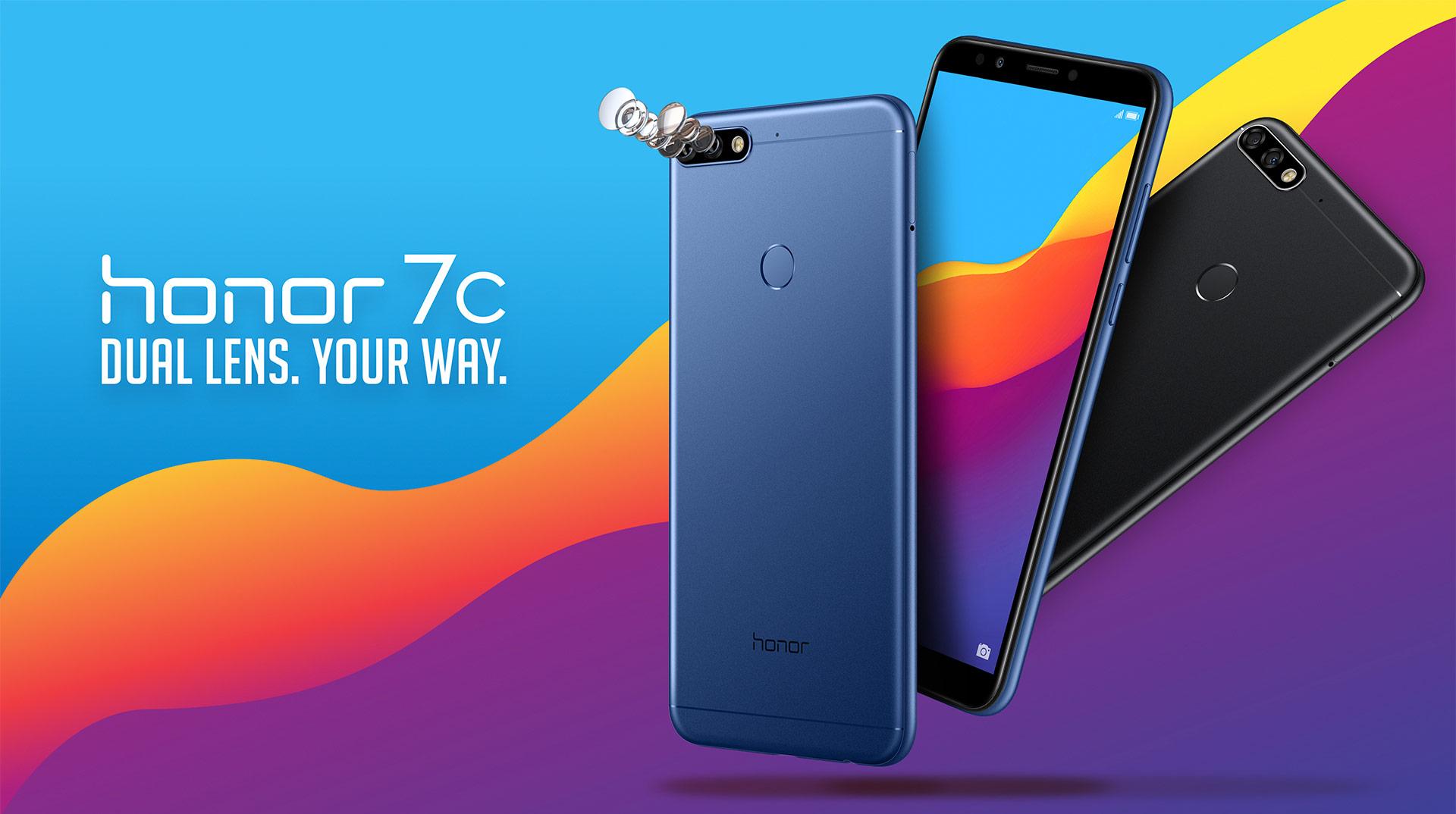 Huawei honor 7C (Cupón 40€ descuento)