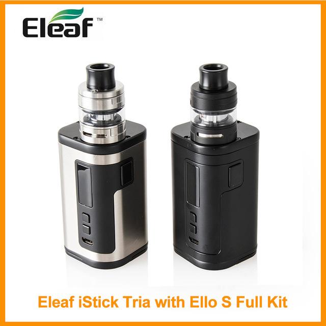 Eleaf iStick Tria con 2 ml/4 ml Ello S Kit completo 300 W