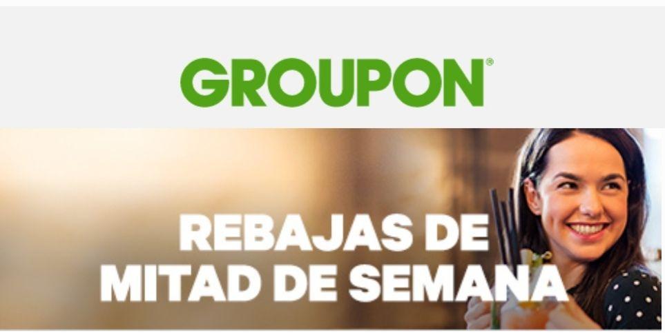 20% EXTRA Groupon (no incluye gastronomía).
